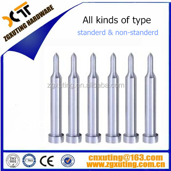 high quality all kinds of type punches cylindrical punch
