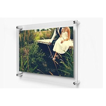 3x5 Wall Mounted Magnetic A3 Acrylic Sandwich Floating Frame Buy
