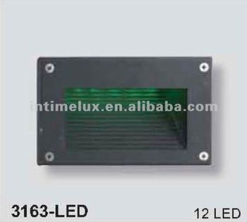 3163-led Rectangular Led Recessed Wall Lights