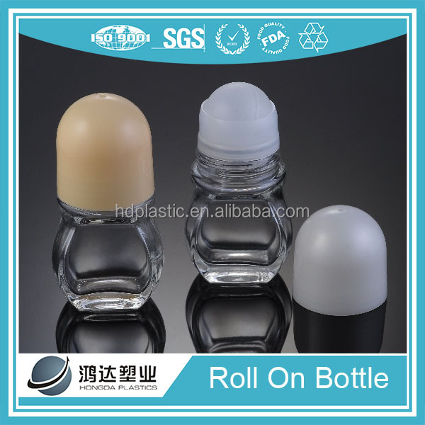 Wholesale fashion design perfume roll on bottle 50ml