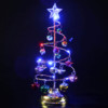 Glitter Hanging Christmas Tree Home Arts Crafts Christmas Tree Hanging Decoration