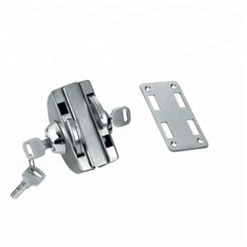 Stable And Competitive Price Latch In Double Glass Door Lock For