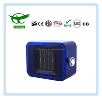 Big power 1.8kW GS/CE/RoHS Infrared PTC Ceramic Heater Heater With Safety Tip-over Switch