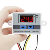 XH-W3001 LCD Digital Temperature Controller Thermal Regulator Thermostat 220V 10A With NTC Sensor