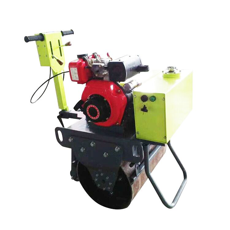 Cheap Price Walk Behind Vibrating Baby Road Roller Compactor Not Dynapac