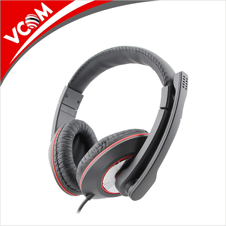 Get free sample 2.1m cable usb laptop headphone with microphone