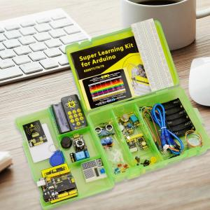 New Keyestudio Super Starter Learning Kit with UNO R3 2x16 LCD +PDF for Arduino starter