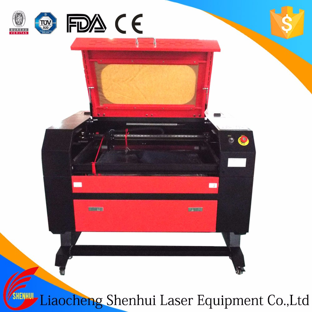 OEM Cheap co2 laser cutting machine for meta at factory price