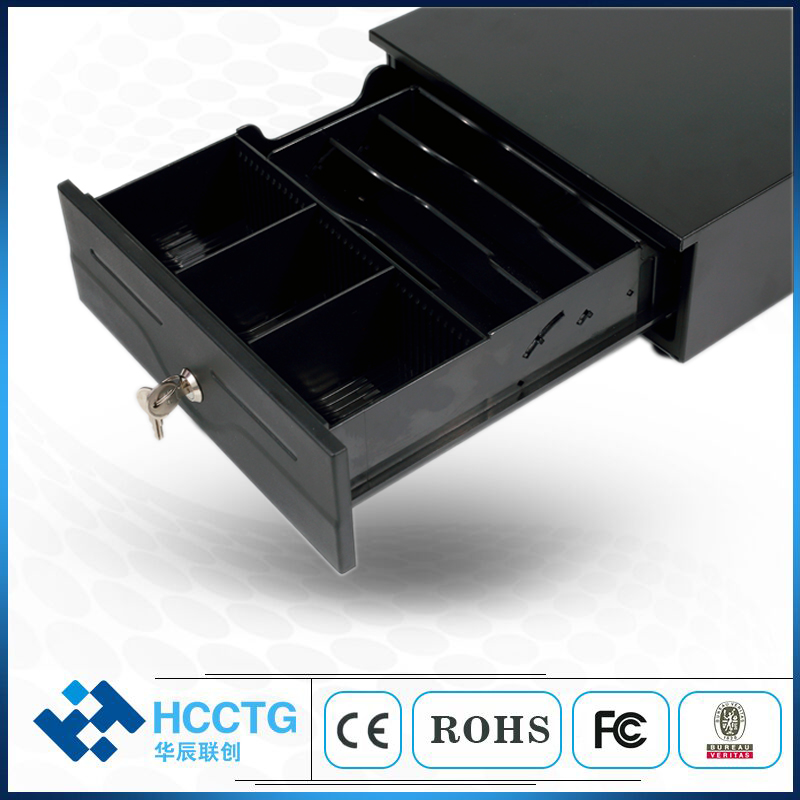 Mini RJ11 Plastic Cash Drawer For Supermarket HS-240