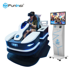 Funin VR Glasses Headset Arcade Games Amusement Park Antique Cars For Sale
