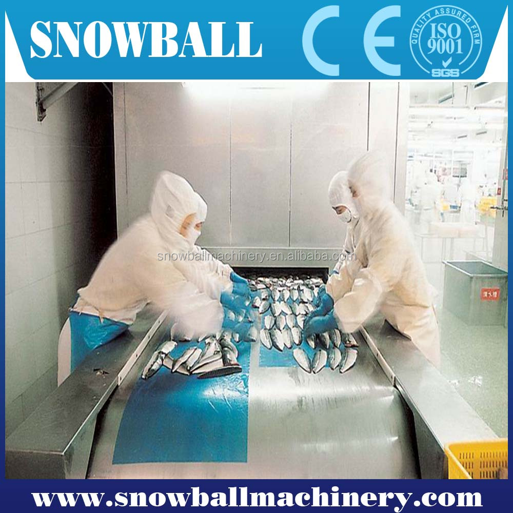Made In China Iqf Vegetables Fruits Blast Tunnel Freezer Price ...