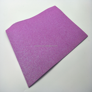 Use On Crafts Shiny EVA Foam Sheet 2mm Colorful Shiny Glitter EVA Foam