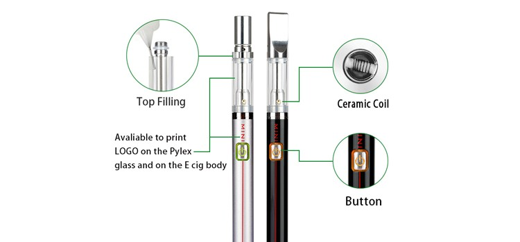 China Supplier e Cigarette Vape Pen Battery X8