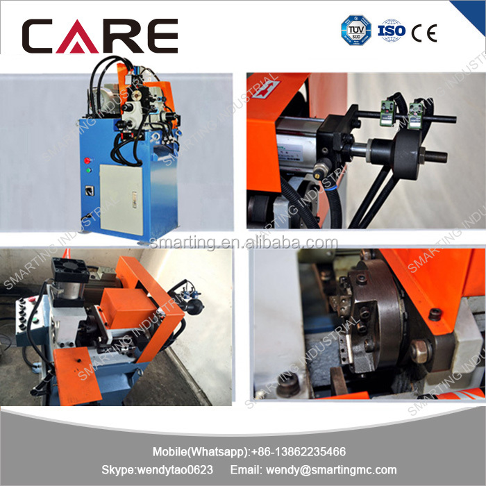High speed Price of pipe end facing machine, edge bevel machine, copper tube deburring machine