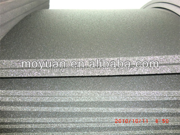 chemically cross-linked close cell XPE foam 3-12mm thickness