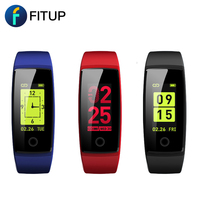 2018 hot selling cheap price fitness sport tracker bracelet Touch color display wrist smart watch
