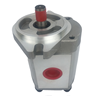 Compact performance of gear pump, hydraulic oil pump HGP, Stainless steel material of pump shell