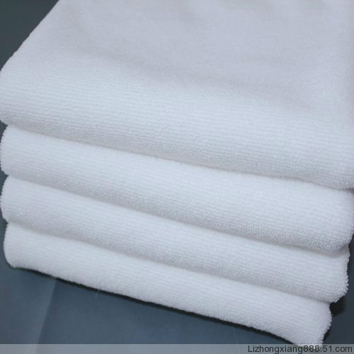220GSM/200GSM white microfibre towel/cloth