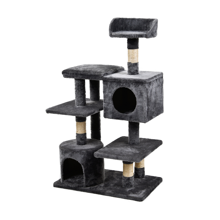 PetStar Luxury Moisture-proof Multi-layer Cat Tree Cat Scratch Board Large Cat Tree