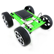 1 stks Mini Zonne-energie Speelgoed <span class=keywords><strong>DIY</strong></span> Auto Kit Kinderen Educatief Gadget <span class=keywords><strong>Hobby</strong></span> Grappig