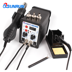 8586 Digital Rework Station & Soldering Station 700W 110/220V 2 In 1 Hot Air Soldering Mobile Phone Repair Tools