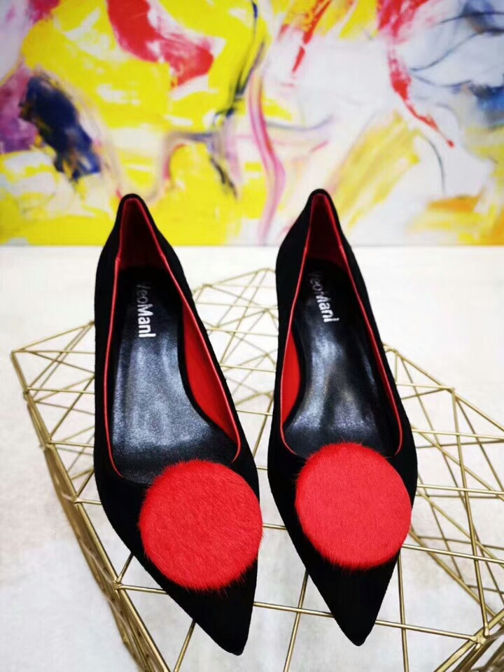 shoes casual slip buckle ladies node suede on heel toe pointed square round wqHUAxX
