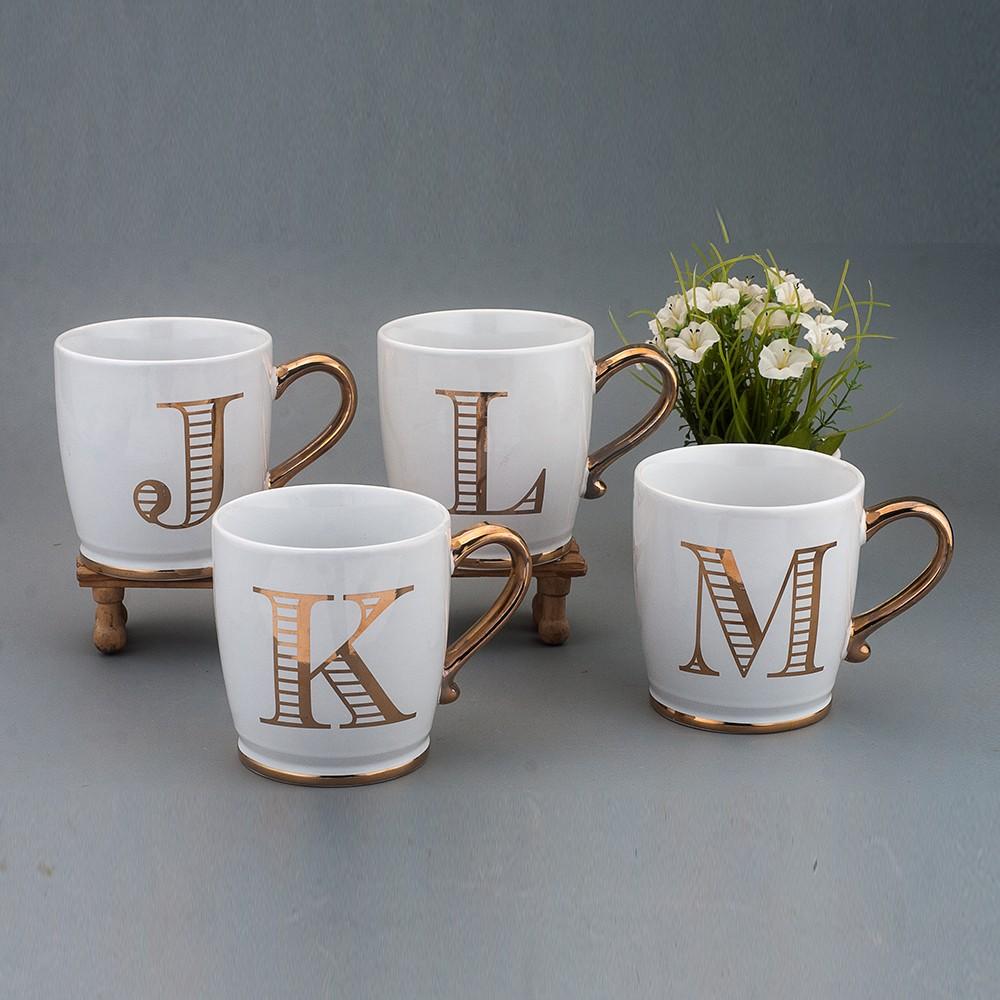 gold handle monogram mug buy mug gold mug monogram mug product on
