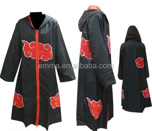 Naruto Akatsuki Cloak Cosplay Costume Naruto Akatsuki Cloak
