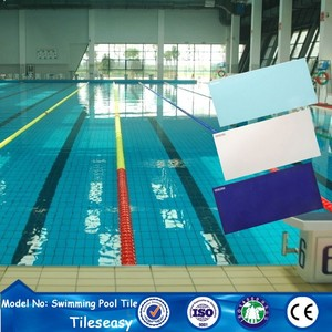 supplies for low cost above ground ceramic tile swimming pools