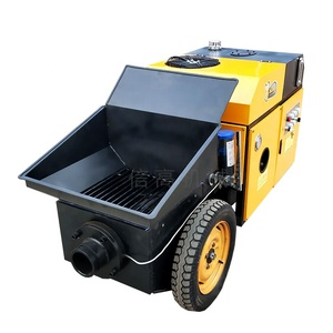 Cement Concrete Mixer Pump Trailer Hydraulic portable concrete mixer and pump