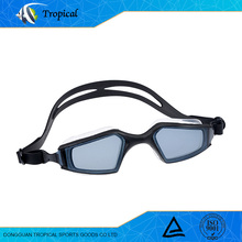 Professional manufacturer high quality silicone swimming goggles adult