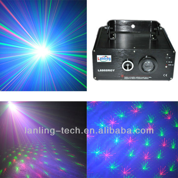 RGB Led 150mW RGY laser light dj club party stage lighting