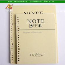 printed hardcover jotter