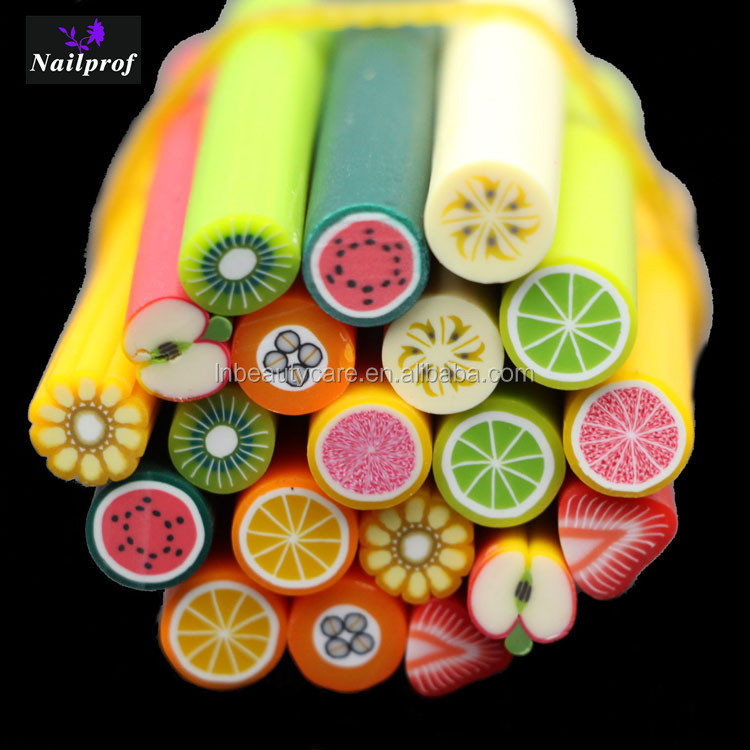 Hot Sell Polymer Clay Nail Art Fruit Slicepolymer Clay Fimonail
