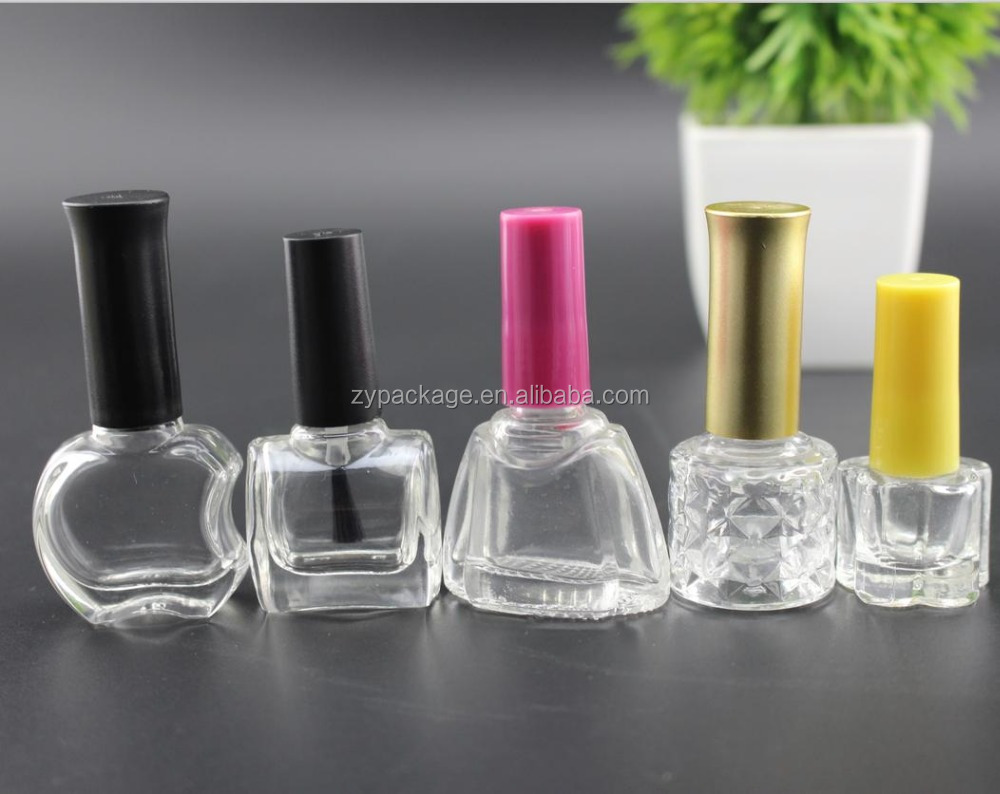 Nail Polish Bottle With Brush - Creative Touch