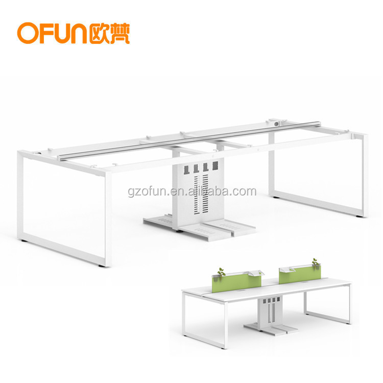2018 New Design Modern Commercial Office Furniture Parts Workstation Staff Steel Table Legs