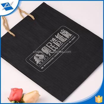 China Factory Wood Pulp Pulp Material Japanese Logo Gift Paper Bag ...