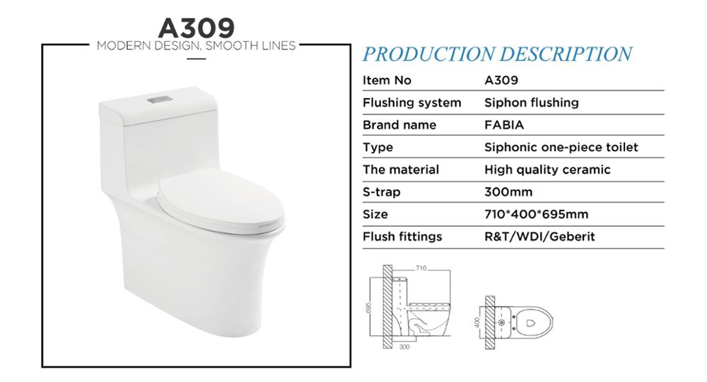 Superior Siphon Floor Mounted Wc Toilet,Chemical Toilet For Home Sale A056