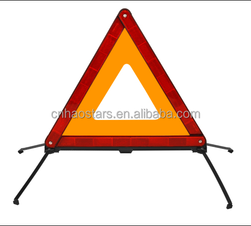 warning triangle for car emergency,led notice <strong>sign</strong>