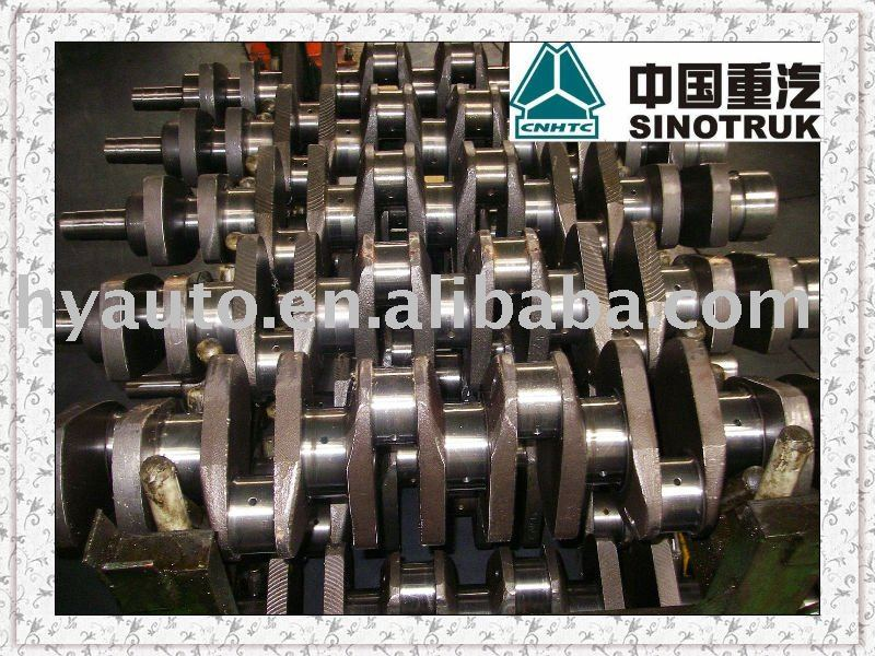 HOWO truck WD615 Steyr engine crankshaft