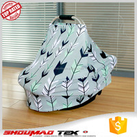 Amazon customized 4 in 1 for baby car seat canopy /multi-use baby car seat cover