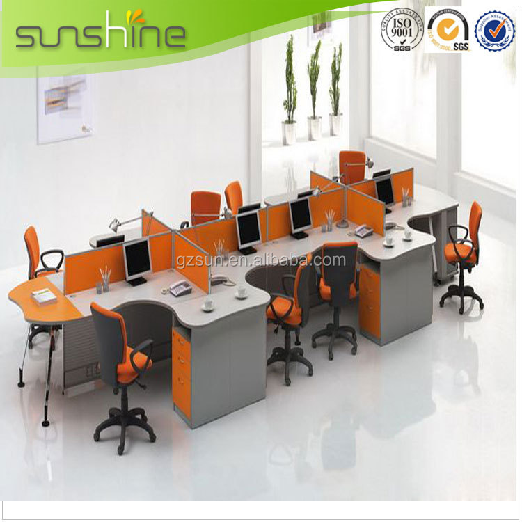 Cubicle Sound Absorption Office Partition With Acoustic Panel ...