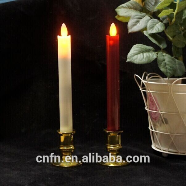 Battery operated flicker birthday candles, led tall pillar candles, led candles