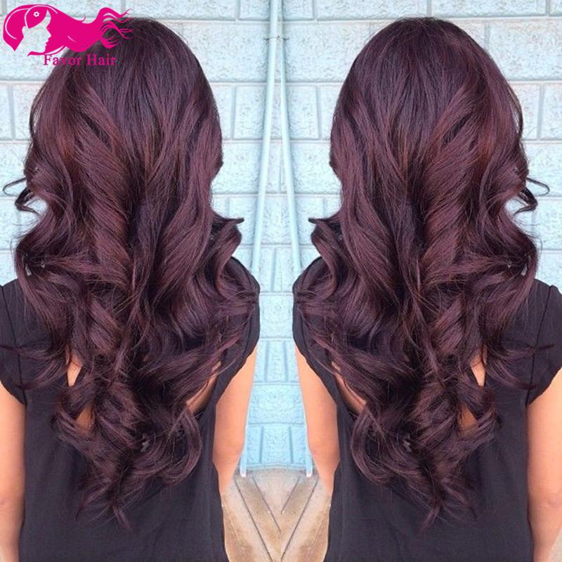 achetez en gros les cheveux en rouge la couleur du vin en ligne des grossistes les cheveux en. Black Bedroom Furniture Sets. Home Design Ideas