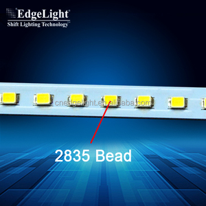 Edgemax series LED strips and glass shell led strip light with holder