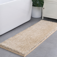 Extra Long runner rugs quick dry soft kitchen bedside bathroom anti-slip floor bath rugs mat