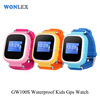 Wonlex newest design color screen kids smart watch phone gps gsm tracker mobile phone