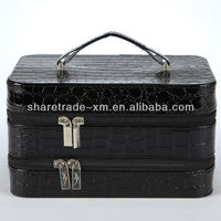 Professional Leather Makeup Case