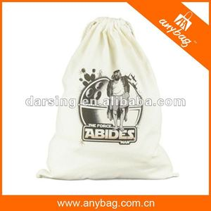 Stylish small bamboo fiber beach drawstring bags promotional