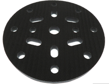 6 Inch 150mm Soft-Interface Pad 8 + 6/8 + 1 Gaten voor Klittenband Disc steunschijf schurende fabrikant
